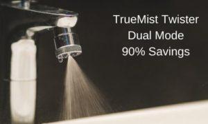dual mode tap nozzle shower mist modes change